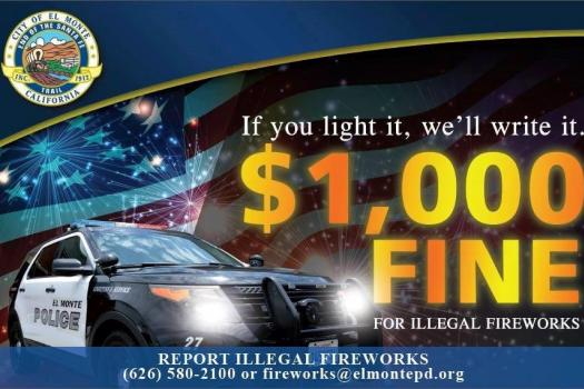 Report Illegal Fireworks - If you light it, we'll write it