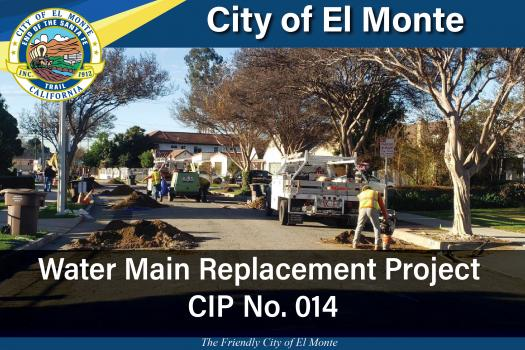 Water Main Replacement Project CIP No. 014