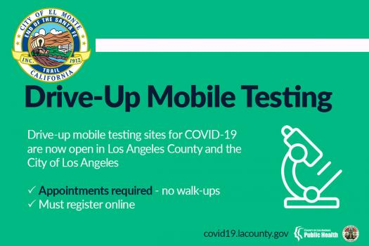 Drive-Up Mobile Testing