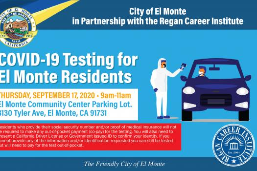 COVID-19 Testing For El Monte Residents