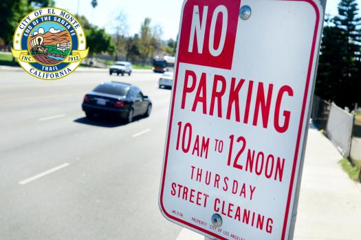 El Monte Reinstated  Enforcement of Street Sweeping Parking Violations