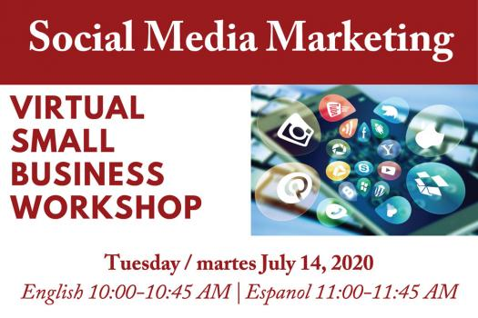 Social Media Marketing - Virtual Small Business Workshop