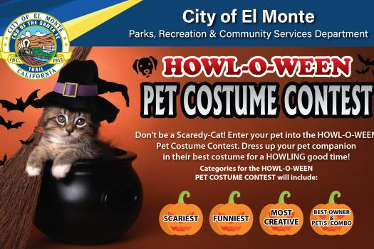 City of El Monte Howl-O-Ween Pet Costume Contest