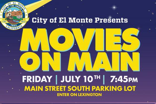 El Monte Community Safe Events - Movies on Main Disney's Moana!