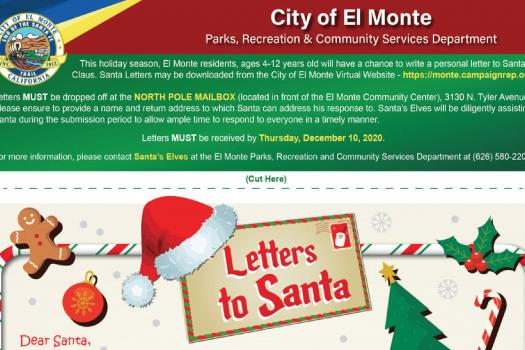 New Letters to Santa Program